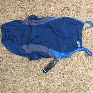 NWT Speedo Pro LT size 14 one piece swimsuit